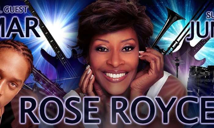 Rose Royce plus special guest Lemar & support Junior