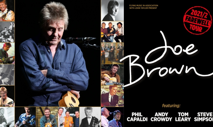 Joe Brown The Farwell Tour