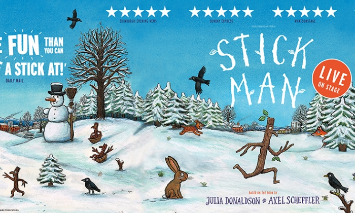 Julia Donaldson Stick Man Tour